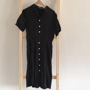 Vintage 90's Era Dress
